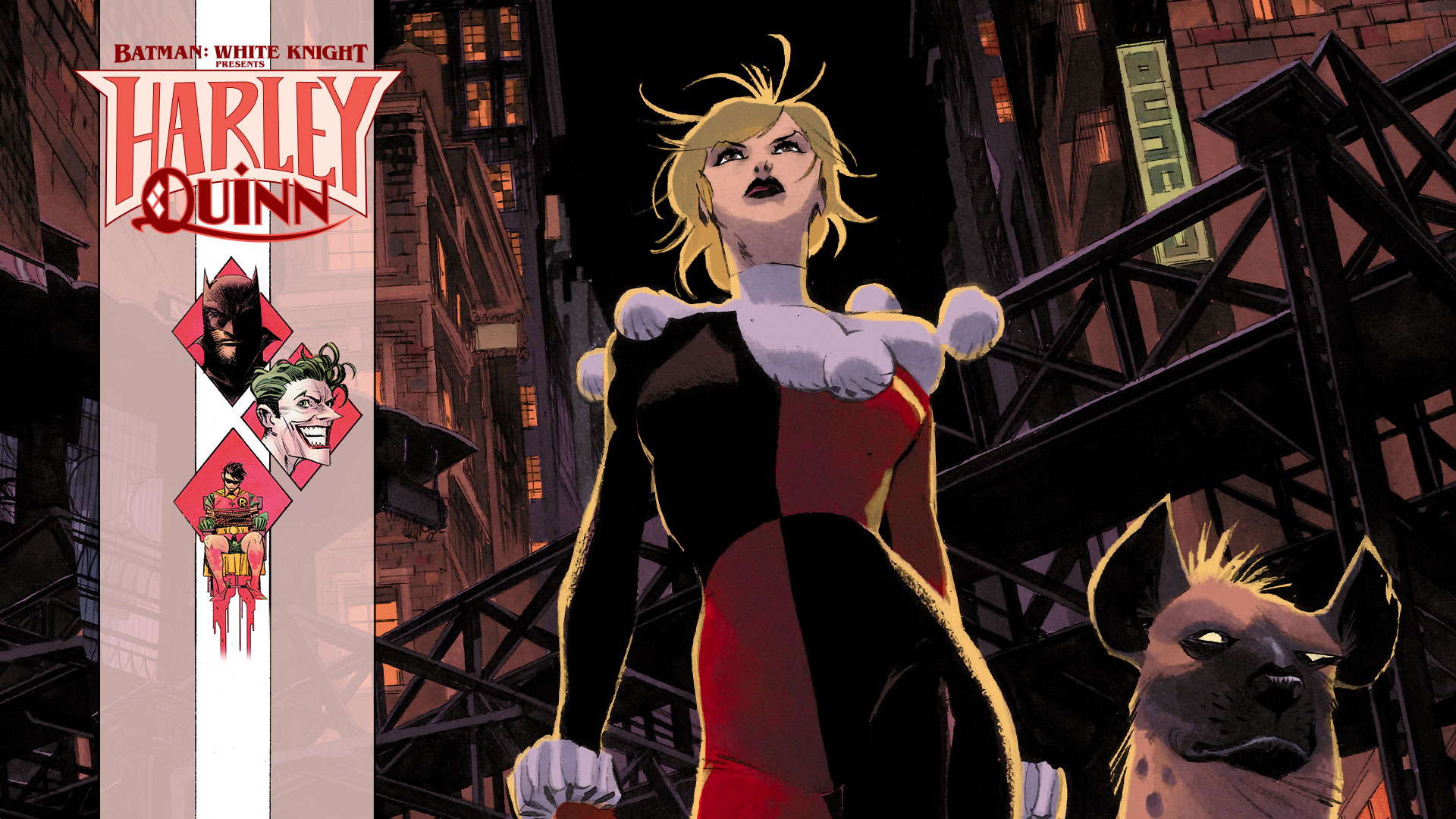 Batman: White Knight Puts Harley Quinn's Heart and Mind to the Test